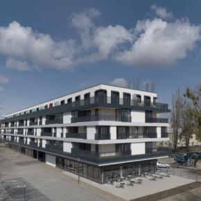 POTSDAM BRANDENBURG | Johanniter Quartier  |  Apartementhaus mit Service für Senioren |  GEBÄUDEÜBERSICHT