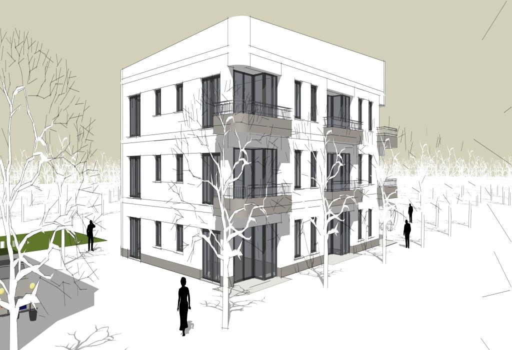 baugruppenprojekt in potsdam poetting architekten. Black Bedroom Furniture Sets. Home Design Ideas