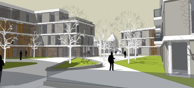 *Neubau | 51 barrierefreie Wohnungen, Ernestus Platz 2, 56626 Andernach  |  St. Nikolaus-Stiftshospital