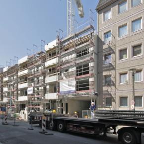 WBM Mitte | Wohnungsneubau in Berlin-Mitte | Fertigstellung Rohbau 10-2016