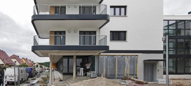 *Heimstraße 16, Premnitz, Brandenburg, kurz vor der Fertigstellung