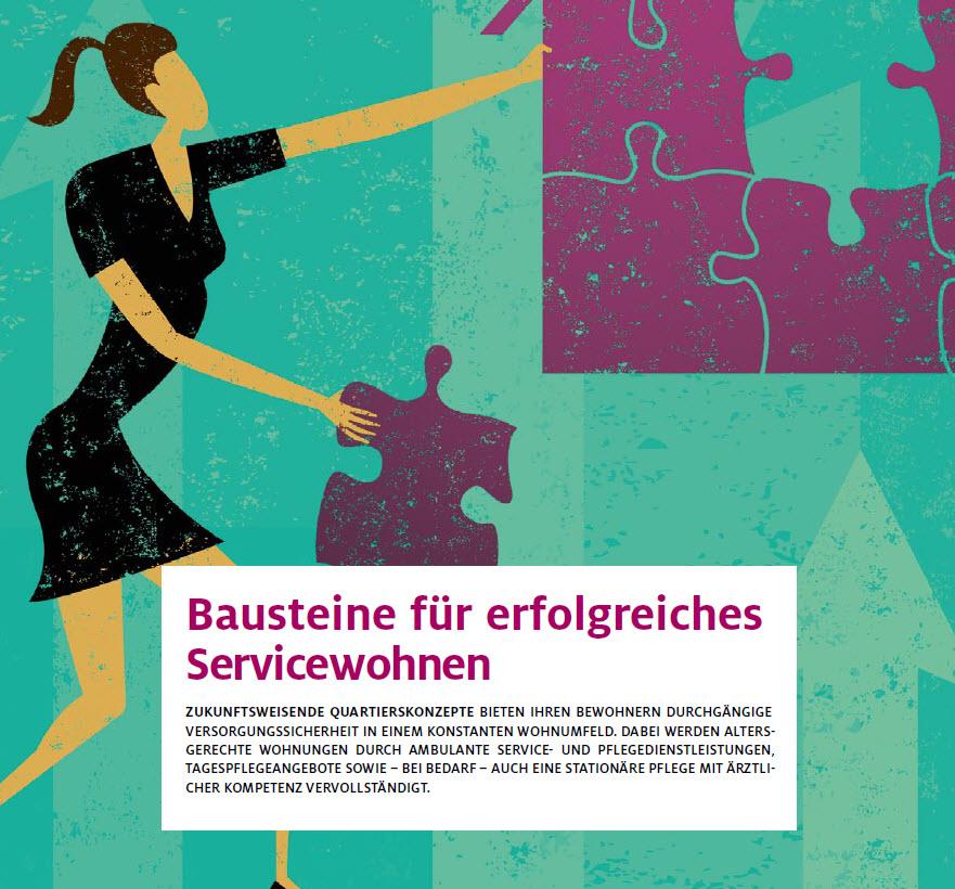 Broschüre für Wohnkonzepte