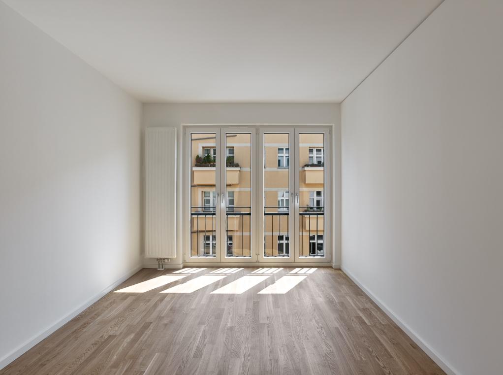 Berlin Mitte Wohnhaus Apartment Wohnzimmer