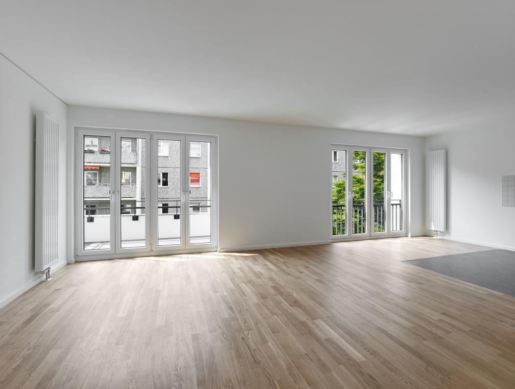 Berlin Mitte Wohnhaus Apartment Blick In Das Wohnzimmer