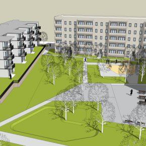 Bauteil C Innenhof