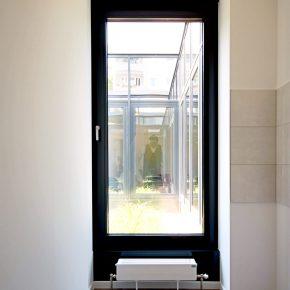 Innenansicht Fenster Atrium